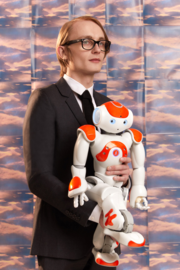 Daniel with his NAO